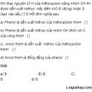 Câu 1 trang 232 SGK Hóa học 11 Nâng cao