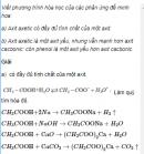 Câu 1 trang 256 SGK Hóa học 11 Nâng cao