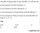 Câu 1 trang 250 SGK Hóa học 11 Nâng cao