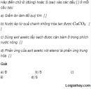 Câu 2 trang 256 SGK Hóa Học 11 Nâng cao