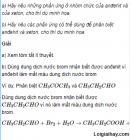 Câu 3 trang 246 SGK Hóa học 11 Nâng cao