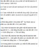 Câu 5 trang 251 SGK Hóa học 11 Nâng cao