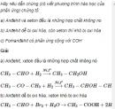 Câu 7 trang 243 SGK Hóa học 11 Nâng cao