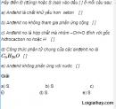 Câu 8 trang 243 SGK Hóa học 11 Nâng cao