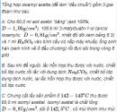 Câu 9* trang 260 SGK Hóa học 11 Nâng cao