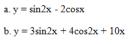 Câu 35 trang 212 SGK Đại số và Giải tích 11 Nâng cao