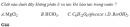 Câu 5 trang 7 SGK Hóa học 11 Nâng cao