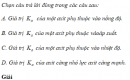 Câu 6 trang 16 SGK Hóa học 11 Nâng cao