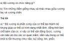 Câu hỏi thảo luận số 1 trang24 SGK Sinh 8