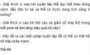 Câu hỏi thảo luận số 2 trang 73 SGK Sinh 8