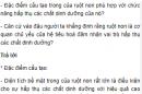 Câu hỏi thảo luận số 1 trang 94 SGK Sinh 8