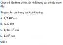 Bài 1 trang 52 SGK Vật Lý 10 Nâng Cao