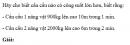 Câu C4 trang 157 SGK Vật lý lớp 10 nâng cao