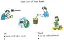 B. A bad toothache - Unit 10 trang 103 SGK Tiếng Anh 7