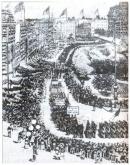 Những sự kiện lịch sử nào chứng tỏ phong trào công nhân thế giới vẫn tiếp tục phát triển trong những năm cuối thế kỉ XIX?