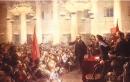 Trình bày những diễn biến chính của cuộc khởi nghĩa vũ trang ở Pê-tơ-rô-grat.