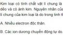 Bài 2 trang 100 SGK Hoá học 12