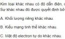 Bài 3 trang 100 SGK Hoá học 12