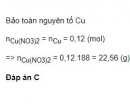 Bài 3 trang 159 SGK Hóa học 12