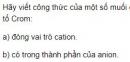 Bài 4 trang 155 SGK Hóa học 12