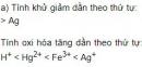 Bài 7 trang 89 SGK Hoá học 12