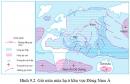 Dựa vào hình 9.2, hãy cho biết các trung tâm áp cao hình thành gió mùa mùa hạ ở Việt Nam; hướng di chuyển và tính chất của gió này.