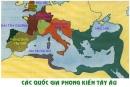 Khi tràn vào lãnh thổ của đế quốc Rô-ma, người Giéc-man đã làm gì ? Những việc làm ấy có tác động như thế nào đến sự hình thành xã hội phong kiến châu Âu?