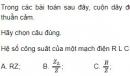 Bài 2 trang 85 SGK Vật lí 12