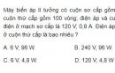 Bài 3 trang 91 SGK Vật lí 12