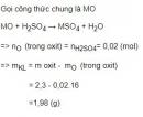 Bài 5 trang 165 SGK Hóa học 12