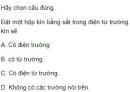 Bài 5 trang 111 SGK Vật lí 12