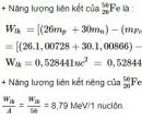 Bài 6 trang 187 SGK Vật lí 12