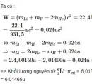 Bài 8 trang 187 SGK Vật lí 12