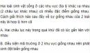 Bài 3 trang 107 SGK Sinh 12