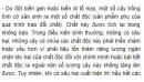 Bài 2 trang 122 SGK Sinh 12