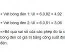 Bài C4 trang 35 SGK Vật lí 9