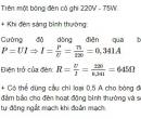 Bài C6 trang 36 SGK Vật lí 9