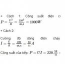 Bài C8 trang 36 SGK Vật lí 9