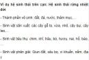 Bài 2 trang 190 SGK Sinh 12