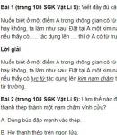 Bài 1, 2, 3, 4, 5 trang 105 SGK Vật lí 9