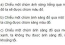 Bài C1 trang 137 SGK Vật lí 9