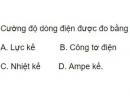 Bài 6 trang 45 SGK Vật lí 11