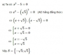 Bài 15 trang 11 SGK Toán 9 tập 1