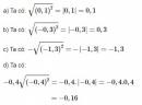 Bài 7 trang 10 SGK Toán 9 tập 1