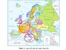 Hãy xác định trên bản đồ châu Á sáu nước đầu tiên của EU