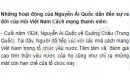 Nguyễn Ái Quốc đã làm những gì để Hội Việt Nam cách mạng thanh niên ra đời?