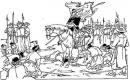 Dựa vào lược đồ, em hãy trình bày diễn biến trận Chi Lăng - Xương Giang.