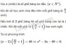 Bài 17 trang 133 SGK Toán 9 tập 2