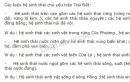 Bài 1 trang 183 SGK Sinh học 9