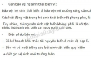 Bài 3 trang 183 SGK Sinh học 9